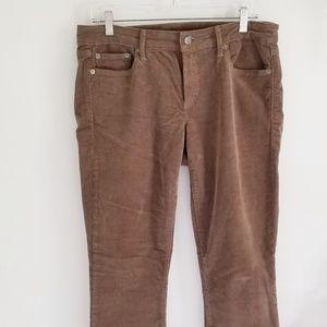 Gap 1969 always skinny light brown corduroy jeans
